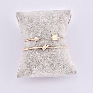 Jewelry - Vintage Arrow & Knotted Cuff Bracelet